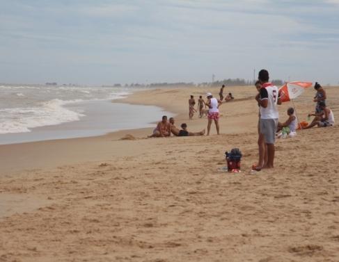 Movimentação no litoral sanjoanense