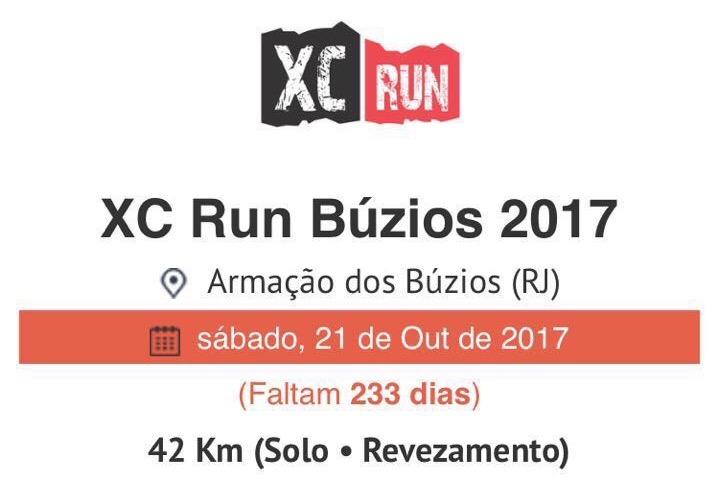 XC Run Búzios