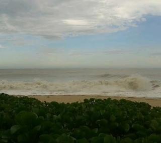 Defesa Civil alerta sobre ressaca marítima