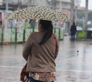 Previsão é de mais chuva para o início da semana