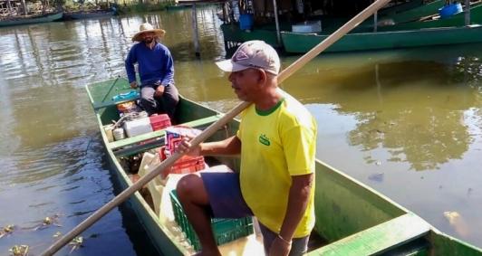 Peixes de volta à Lagoa Feia
