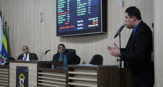 Sessão da Câmara de Campos