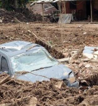 Enchente em Nova Friburgo
