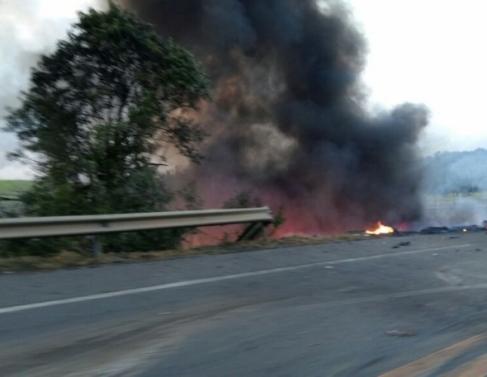 Acidente na BR 101, em Guarapari