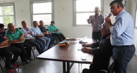 Reunião com secretários de agricultura