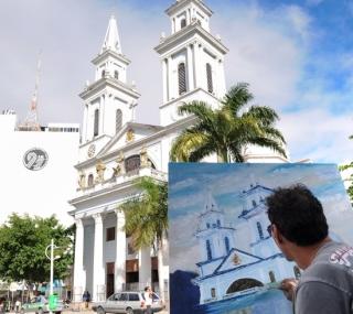 O artista expôs em várias cidades do país