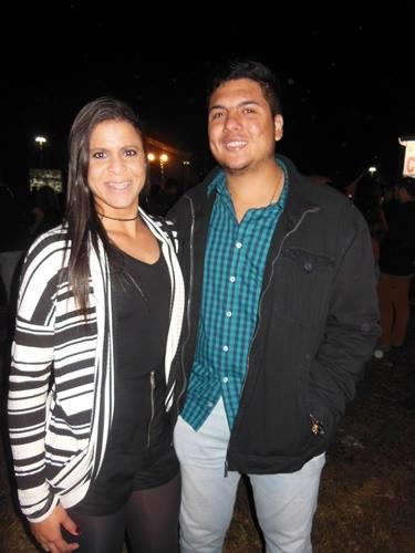 Maíra Fuly e Matheus Rangel.
