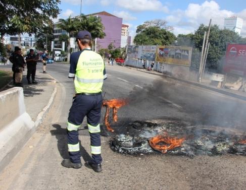 Manifestação dos servidores municipais da saúde