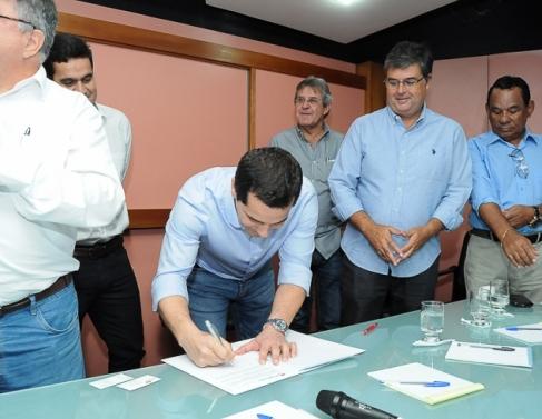 Convênio vai beneficiar vários município