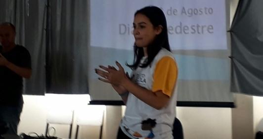 Aluna Thais Siqueira da Silva