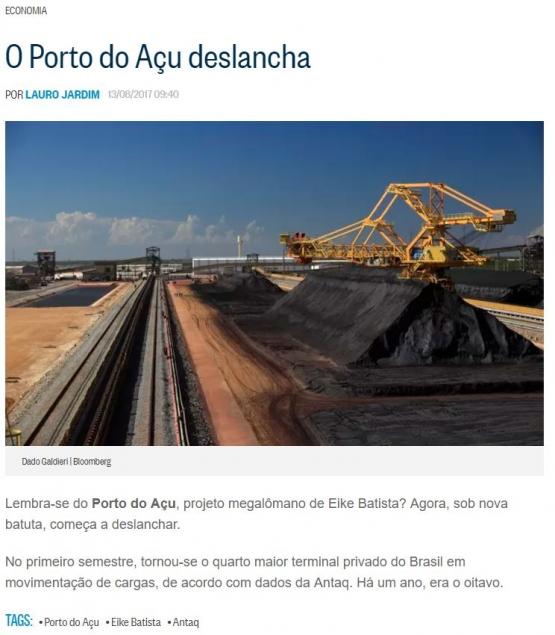 Blog hospedado no jornal O Globo