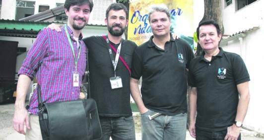 Produtores do Criança Esperança em visita à ONG