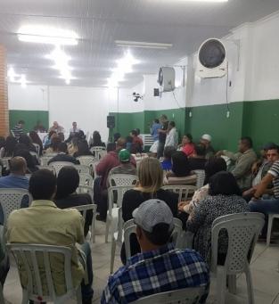 Assembleia Siprosep e servidores de Campos