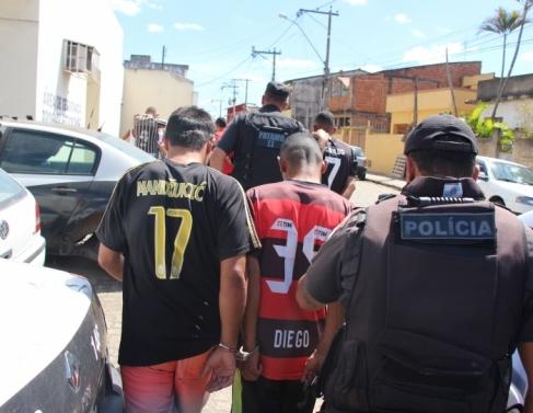 Suspeitos de espancamento foram presos