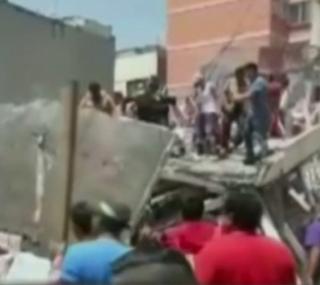Terremoto no México causou mortes e destruição