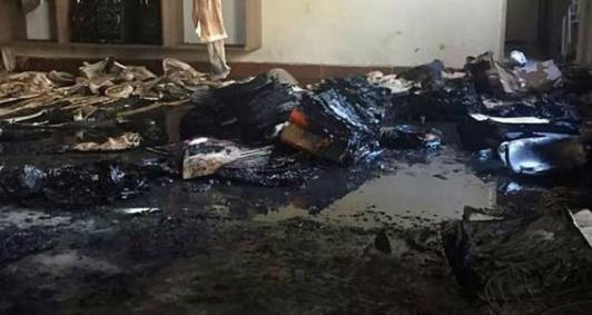 Incêndio em creche de Janaúba