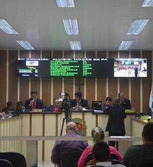 Sessão da Câmara de SJB