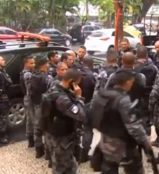 Polícia na Rocinha