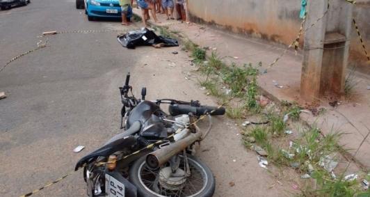 Motociclista morreu em colisão