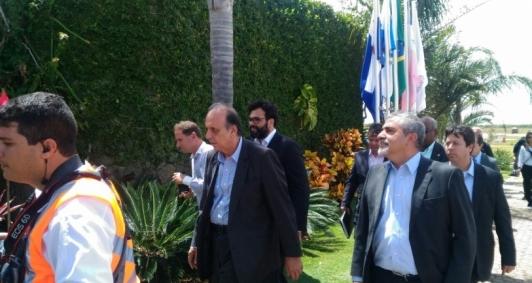 Governadores visitam Porto do Açu