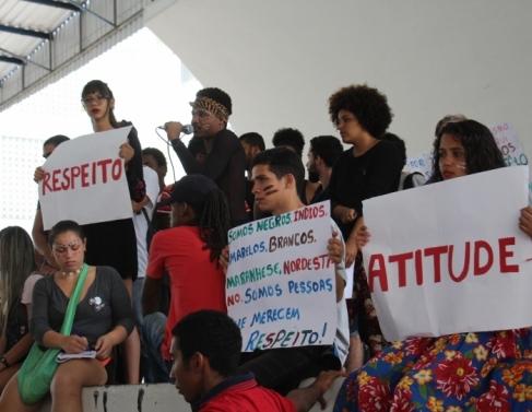 Manifestação no IFF