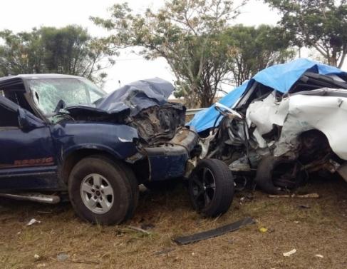 Grave acidente na BR 101