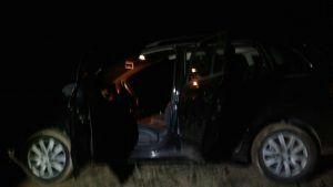 Carro e materiais foram recuperados