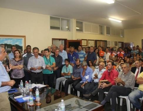 Reunião debateu crise hídrica