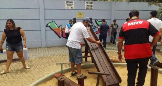 Revitalização da praça 1º de Maio