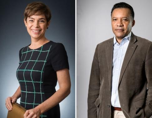 Renata Lo Prete assume definitivamente a apresentação do Jornal da Globo e o jornalista Heraldo Pereira passa a comandar o Jornal das Dez da Globo News