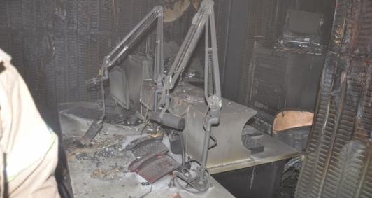 Diversos aparelhos foram danificados