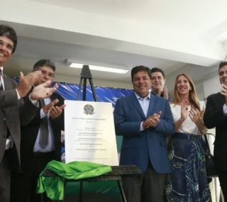 Ministro inaugurou prédio do IFF/Centro