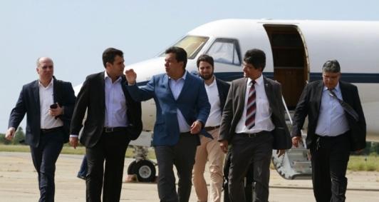 Ministro da Educação, Mendonça Filho, chega a Campos