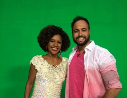 Luciana Barreto e Tiago Alves