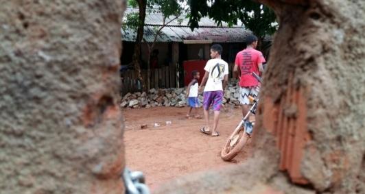 Chuva prejudicou famílias em Morro do Coco