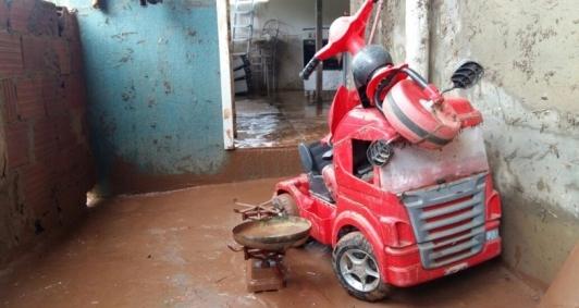 Chuva causou estragos em Morro do Coco