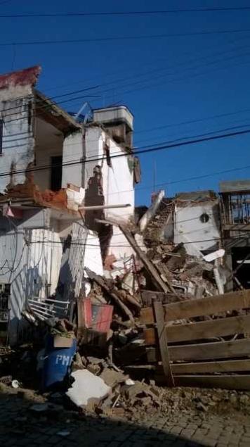 Hotel desaba em Itaocara