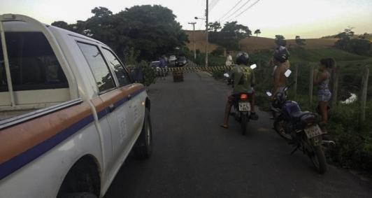 Defesa Civil interdita ponte em Morro do Coco
