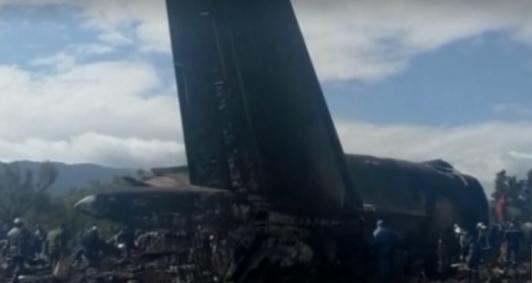 Avião militar cai na Argélia