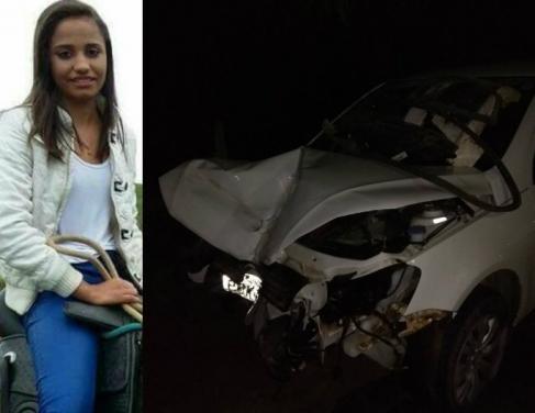 Beatriz de Souza Coelho morreu no local