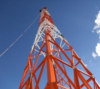 Nova antena da Rádio Continental