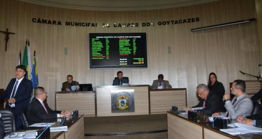 Sessão da Câmara de Vereadores