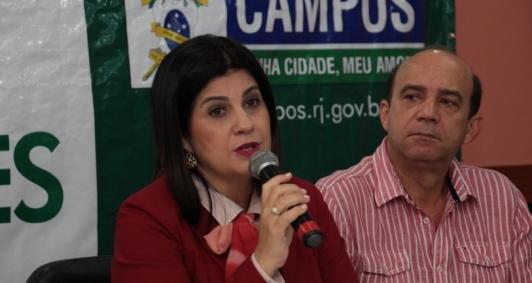 Rosinha e ex-vice prefeito Chicão