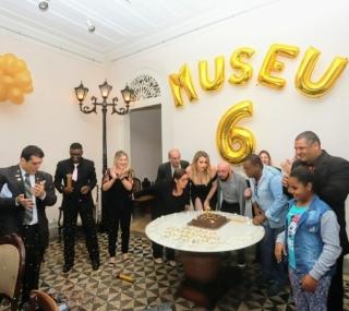 Equipe do Museu se reuniu para comemorar