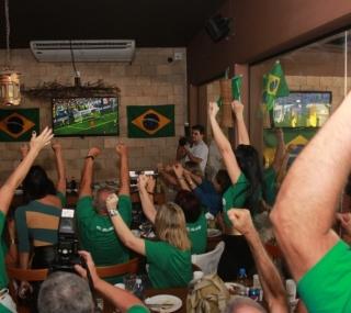 Campistas comemoraram vitória
