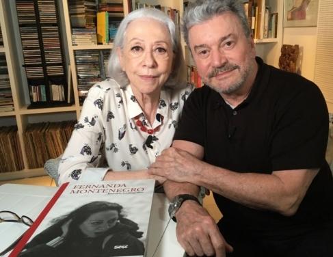 Fernanda Montenegro e Edney Silvestre