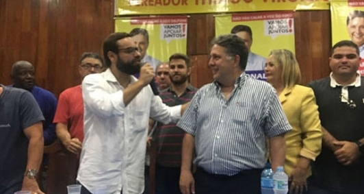 Garotinho e Brizola Neto anunciaram união, mas romperam