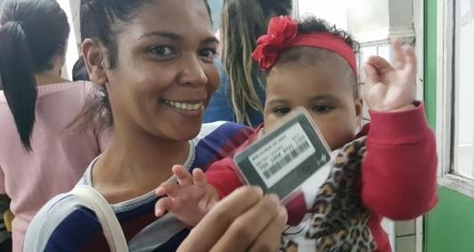 Campanha de Vacinação com movimento intenso
