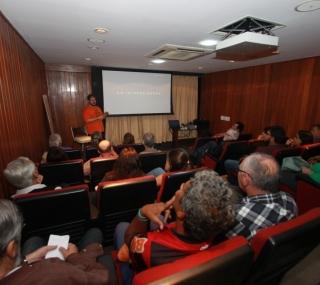 Sessão do Cineclube Goitacá