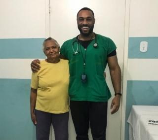 Fred foi o 1º médico negro que atendeu Dona Eunice
